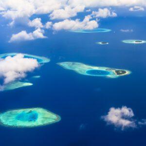 Schwebende Inseln