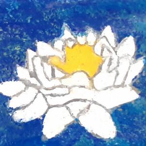 Blumen/Pflanzen auf Malplatte
